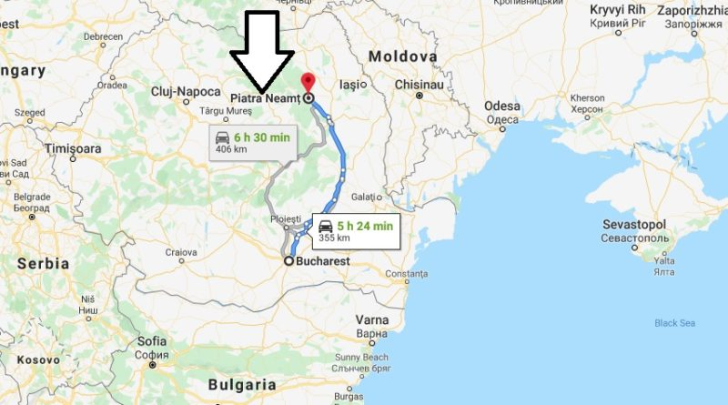 Where is Piatra Neamț Located? What Country is Piatra Neamț in? Piatra Neamț Map