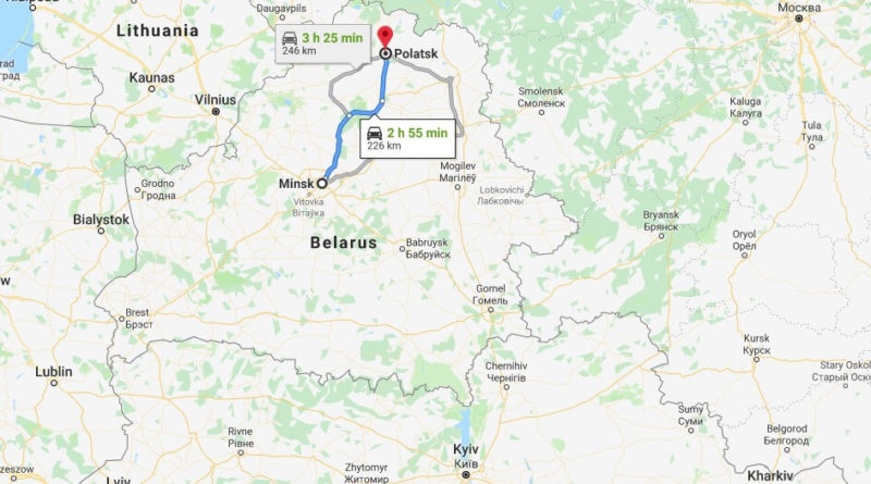 Where is Polatsk Located? What Country is Polatsk in? Polatsk Map