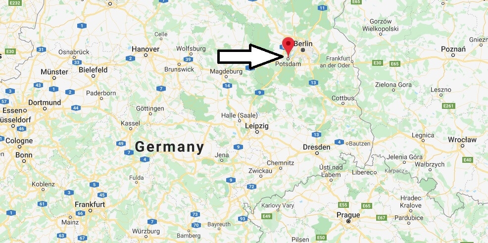 Where is Potsdam Located? What Country is Potsdam in? Potsdam Map