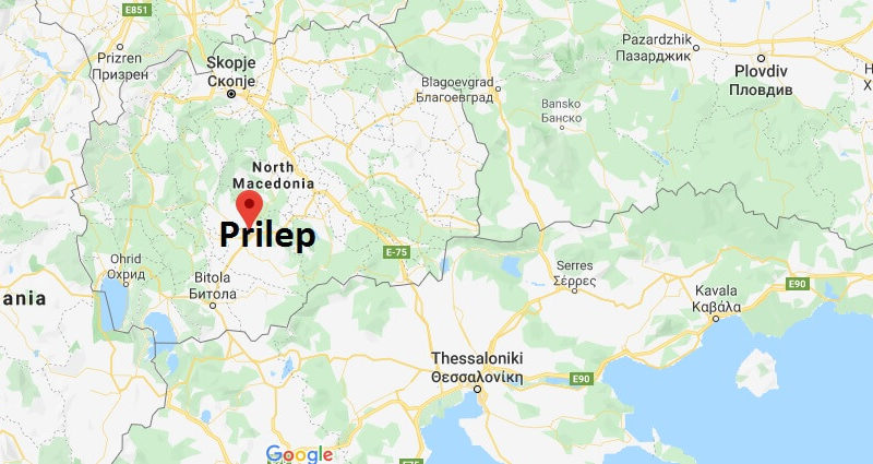 Where is Prilep Located? What Country is Prilep in? Prilep Map