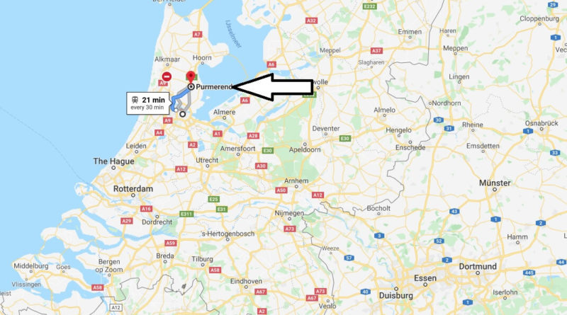 Where is Purmerend Located? What Country is Purmerend in? Purmerend Map