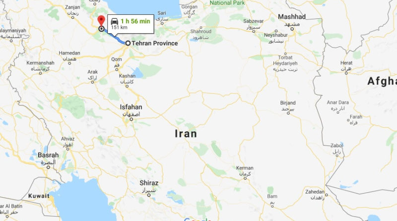 Where is Qazvin Located? What Country is Qazvin in? Qazvin Map
