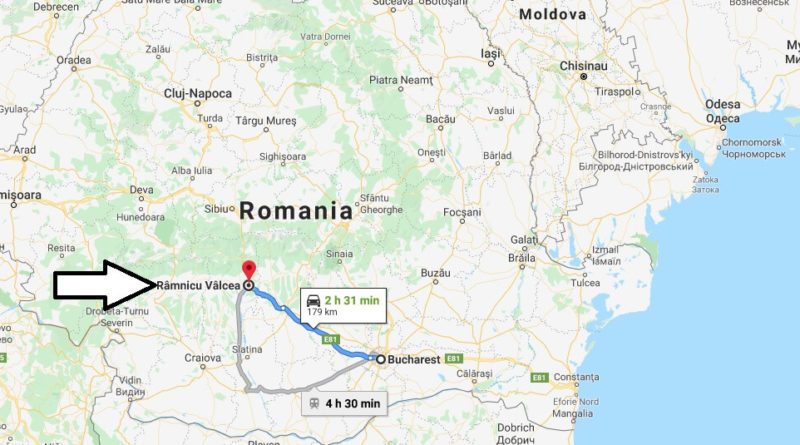 Where is Râmnicu Vâlcea Located? What Country is Râmnicu Vâlcea in? Râmnicu Vâlcea Map