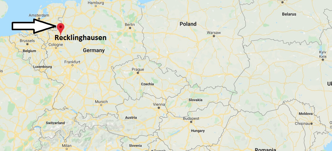 Where is Recklinghausen Located? What Country is Recklinghausen in? Recklinghausen Map