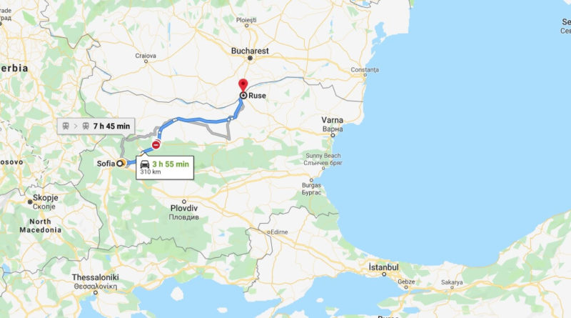 Where is Ruse, Bulgaria Located? What Country is Ruse in? Ruse Map