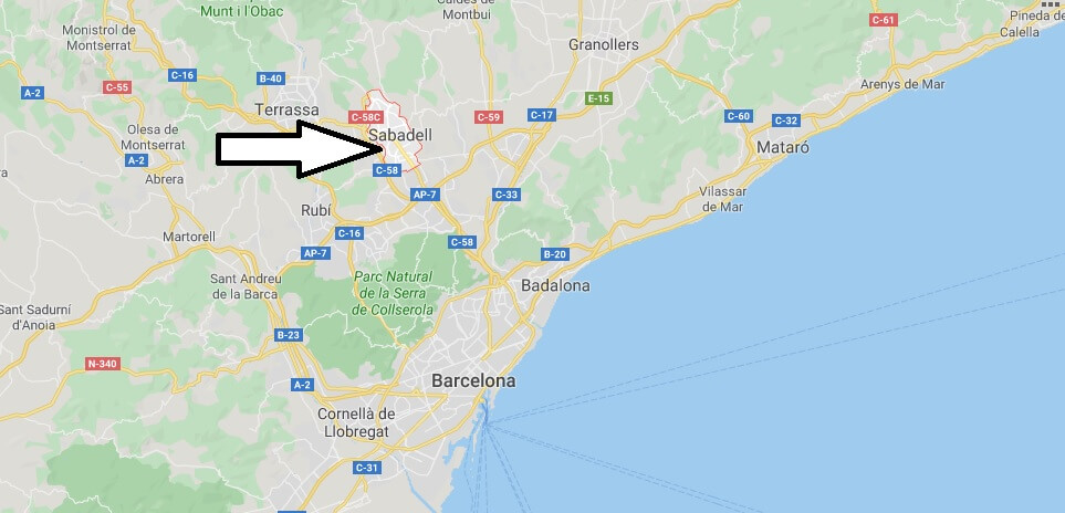 Where is Sabadell Located? What Country is Sabadell in? Sabadell Map