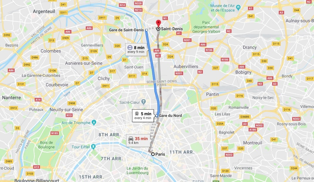 Where is Saint-Denis Located? What Country is Saint-Denis in? Saint-Denis Map