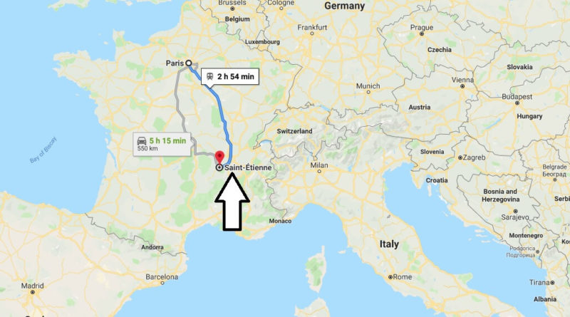Where is Saint-Etienne Located? What Country is Saint-Etienne in? Saint-Etienne Map