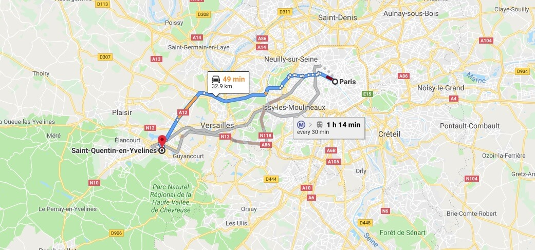 Where is Saint-Quentin-en-Yvelines Located? What Country is Saint-Quentin-en-Yvelines in? Saint-Quentin-en-Yvelines Map