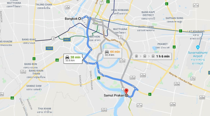 Where is Samut Prakan Located? What Country is Samut Prakan in? Samut Prakan Map