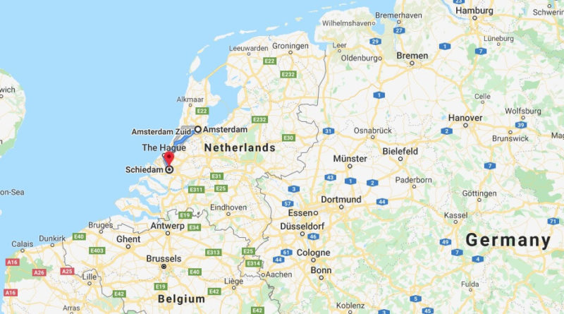 Where is Schiedam Located? What Country is Schiedam in? Schiedam Map