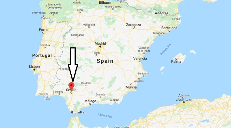 Where is Seville Located? What Country is Seville in? Seville Map