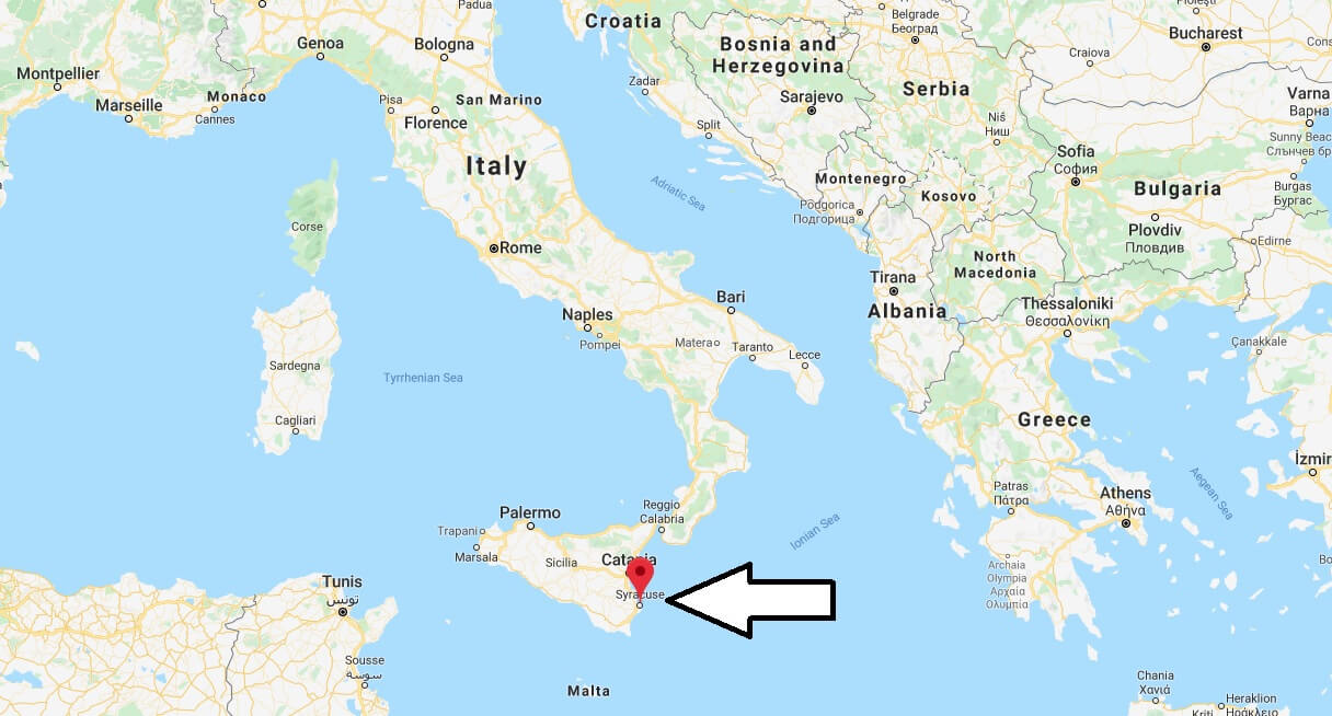 Where is Siracusa Located? What Country is Siracusa in? Siracusa Map