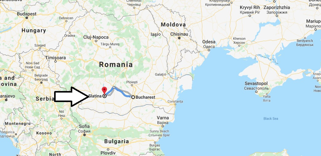 Where is Slatina Located? What Country is Slatina in? Slatina Map
