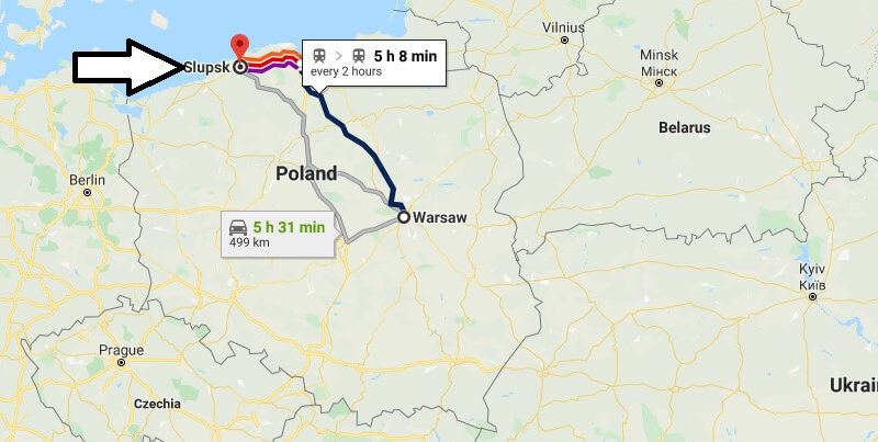 Where is Slupsk Located? What Country is Slupsk in? Slupsk Map