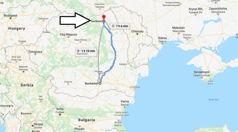 Where is Suceava Located? What Country is Suceava in? Suceava Map