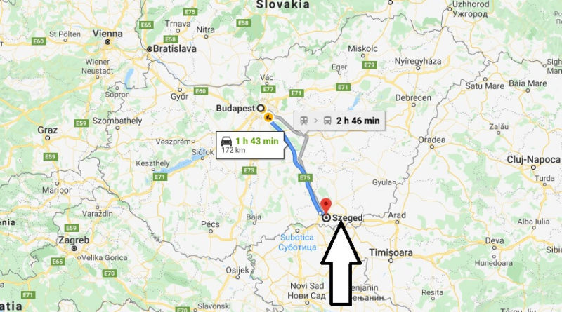 Where is Szeged Located? What Country is Szeged in? Szeged Map