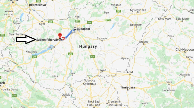 Where is Szombathely Located? What Country is Szombathely in? Szombathely Map