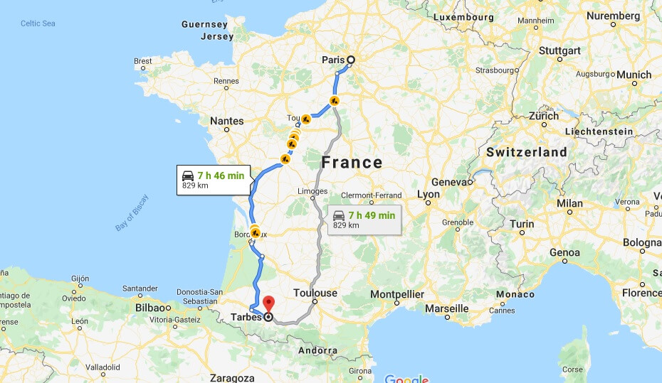 Where is Tarbes Located? What Country is Tarbes in? Tarbes Map