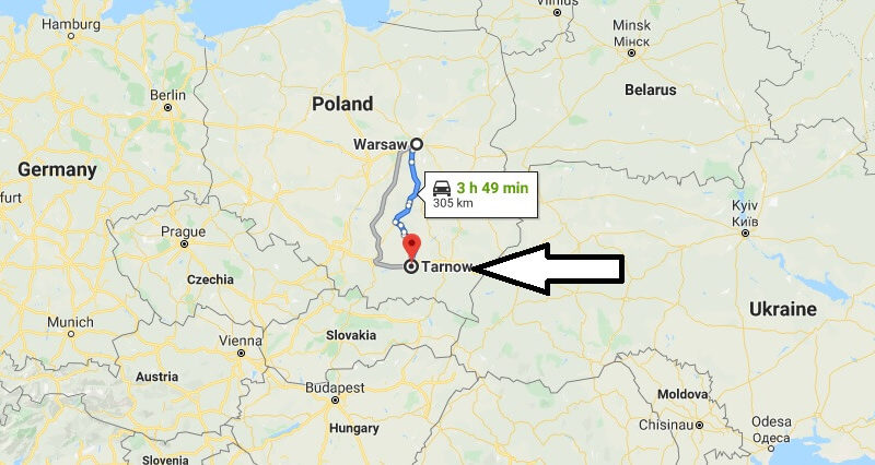 Where is Tarnow Located? What Country is Tarnow in? Tarnow Map