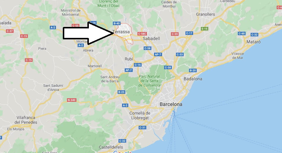 Where is Terrassa (Spain) Located? What Country is Terrassa in? Terrassa Map