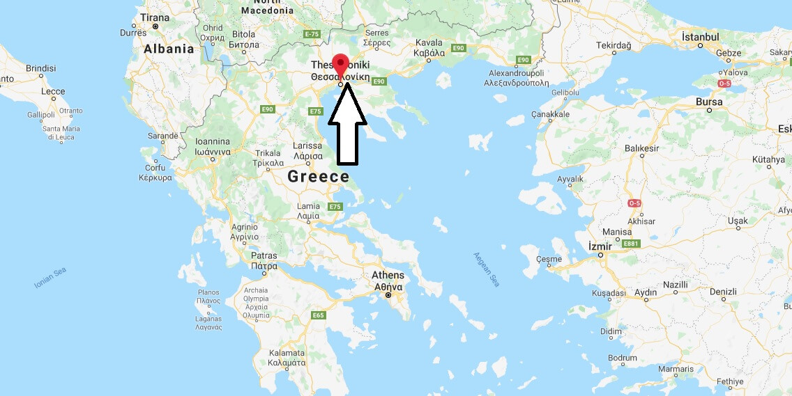 Where is Thessaloniki Located? What Country is Thessaloniki ...