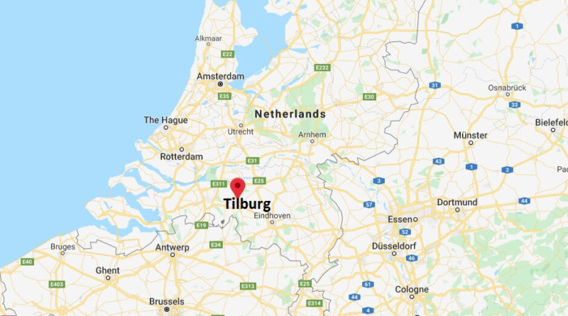 Where is Tilburg Located? What Country is Tilburg in? Tilburg Map
