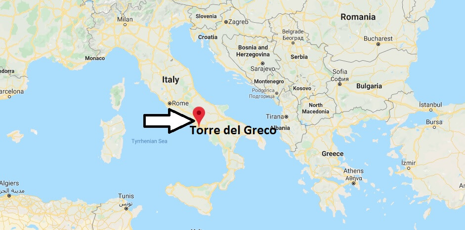 Where is Torre del Greco Located? What Country is Torre del Greco in? Torre del Greco Map