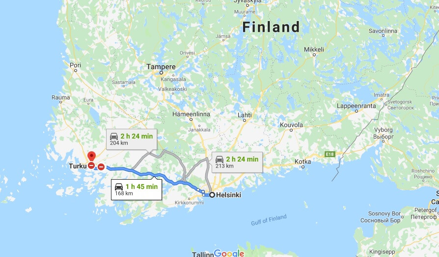 Where is Turku Located? What Country is Turku in? Turku Map