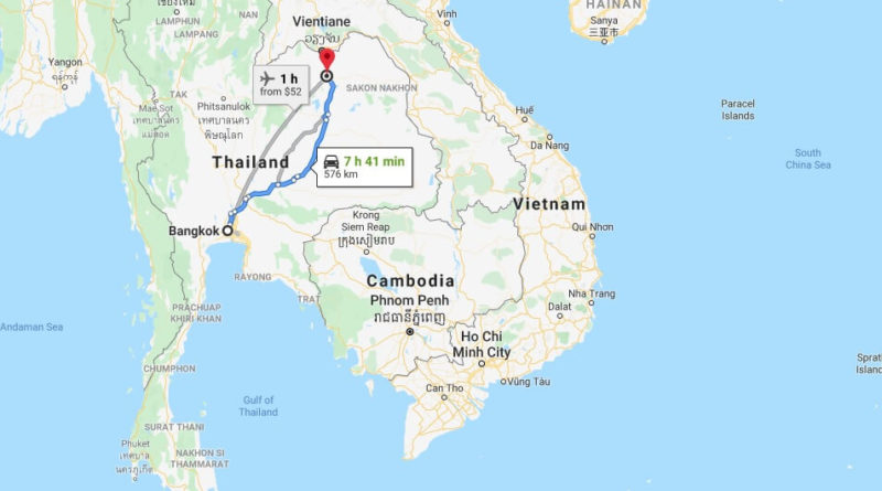 Where is Udon Thani Located? What Country is Udon Thani in? Udon Thani Map