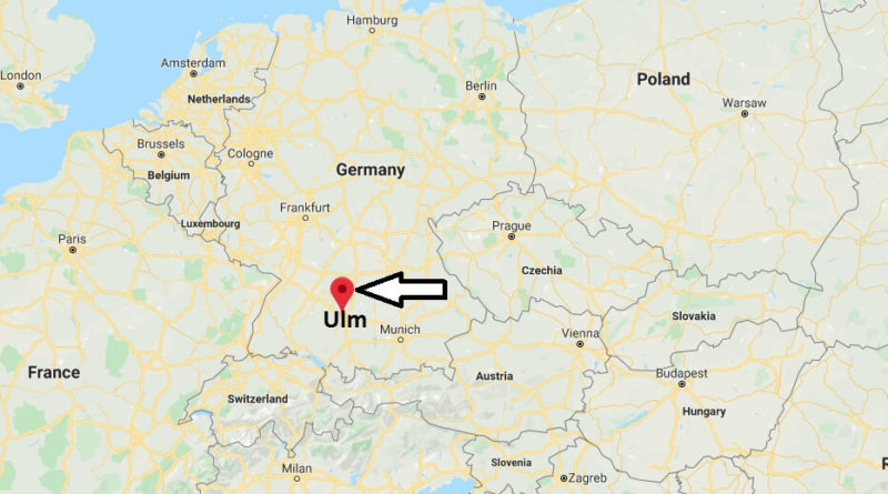 Where is Ulm Located? What Country is Ulm in? Ulm Map
