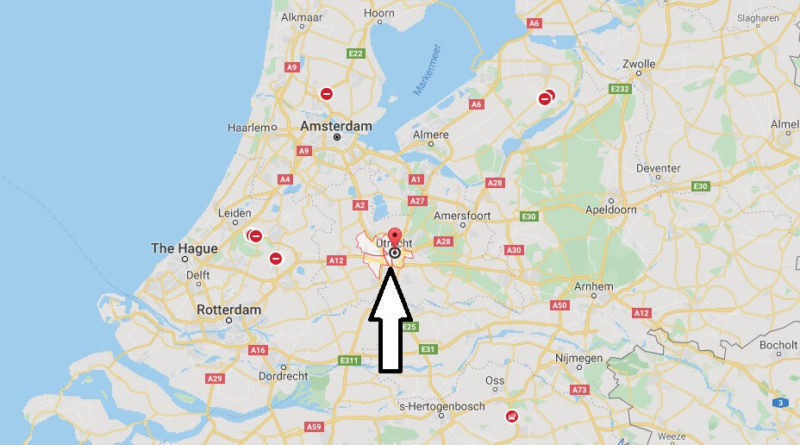 Where is Utrecht Located? What Country is Utrecht in? Utrecht Map