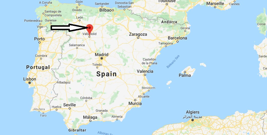 Where is Valladolid Located? What Country is Valladolid in? Valladolid Map