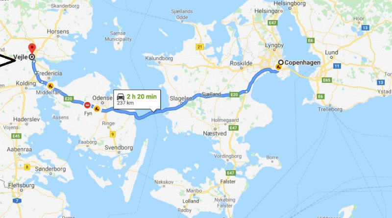 Where is Vejle Located? What Country is Vejle in? Vejle Map