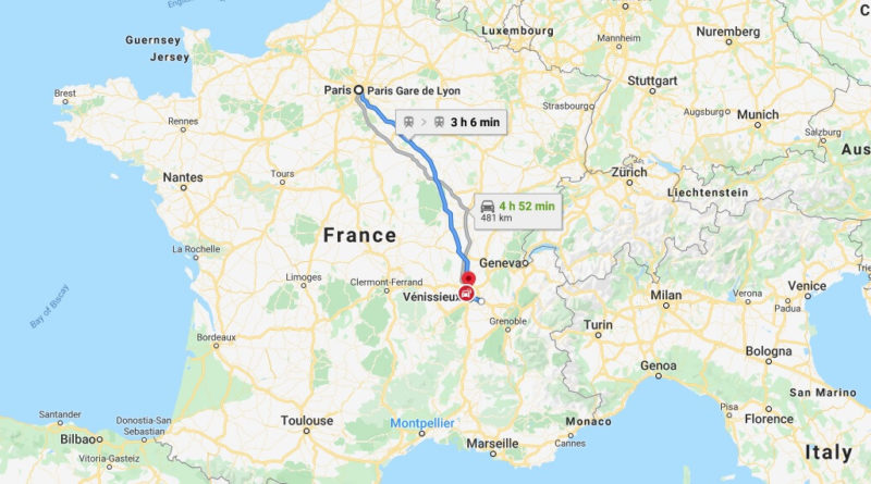 Where is Venissieux Located? What Country is Venissieux in? Venissieux Map