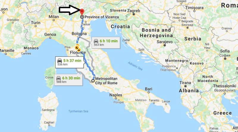 Where is Vicenza Located? What Country is Vicenza in? Vicenza Map