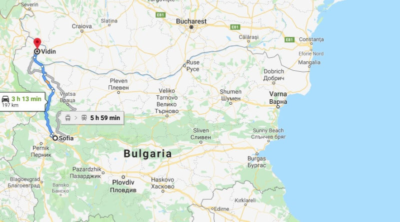 Where is Vidin Located? What Country is Vidin in? Vidin Map