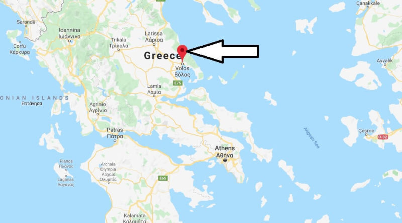 Where is Volos Located? What Country is Volos in? Volos Map