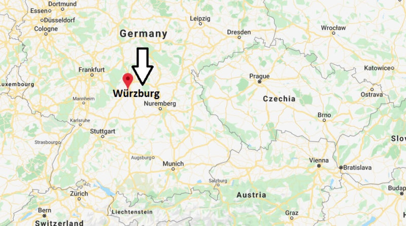 Where is Würzburg Located? What Country is Würzburg in? Würzburg Map