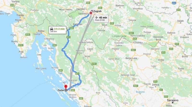 Where is Zadar Located? What Country is Zadar in? Zadar Map