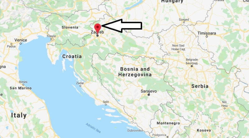 Where is Slavonski Brod Located? What Country is Slavonski Brod in? Slavonski Brod Map