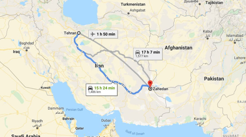 Where is Zahedan Located? What Country is Zahedan in? Zahedan Map