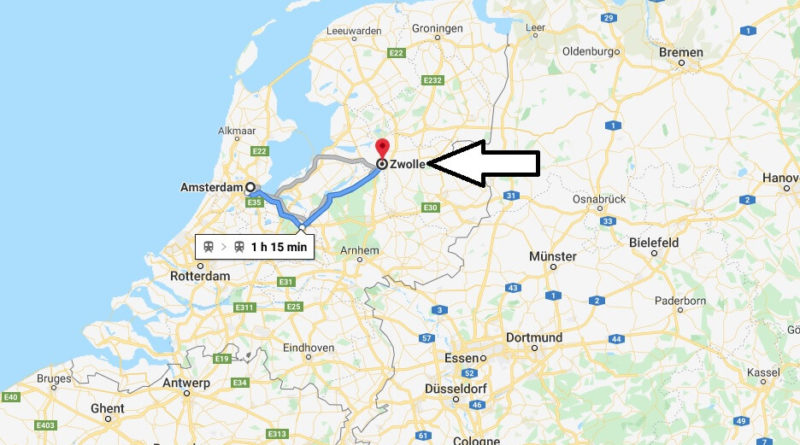 Where is Zwolle Located? What Country is Zwolle in? Zwolle Map