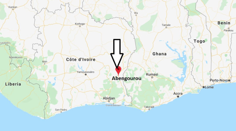 Where is Abengourou Located? What Country is Abengourou in? Abengourou Map