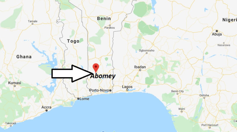 Where is Abomey Located? What Country is Abomey in? Abomey Map