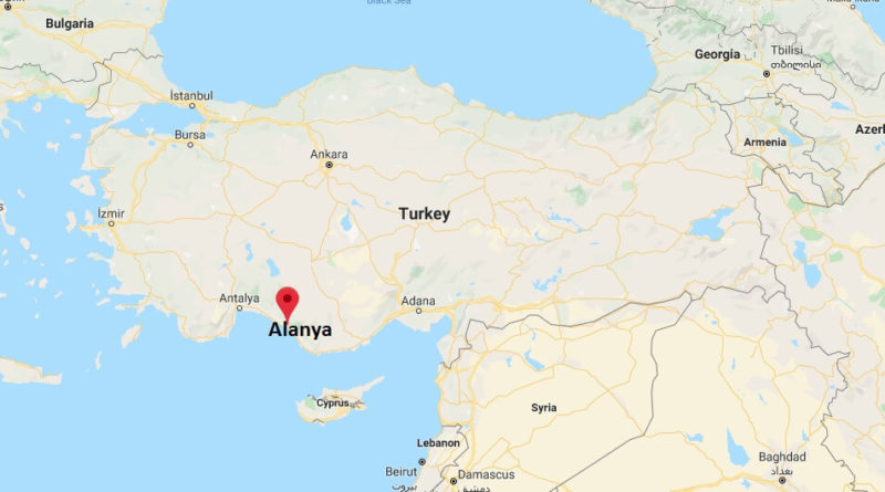 Where is Alanya Located? What Country is Alanya in? Alanya Map