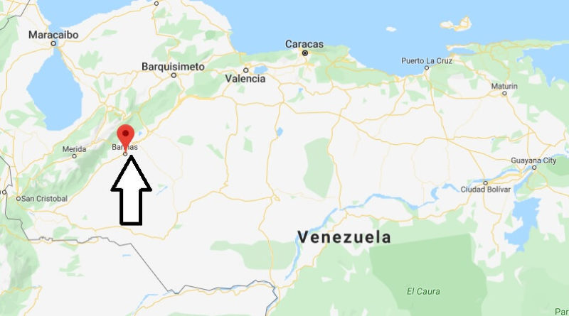 Where is Alto Barinas Located? What Country is Alto Barinas in? Alto Barinas Map