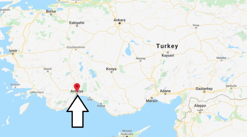 Where is Antalya Located? What Country is Antalya in? Antalya Map