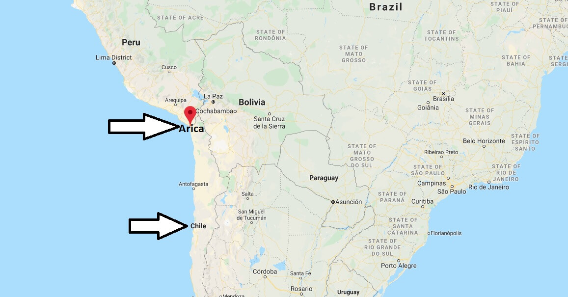 Where is Arica Located? What Country is Arica in? Arica Map