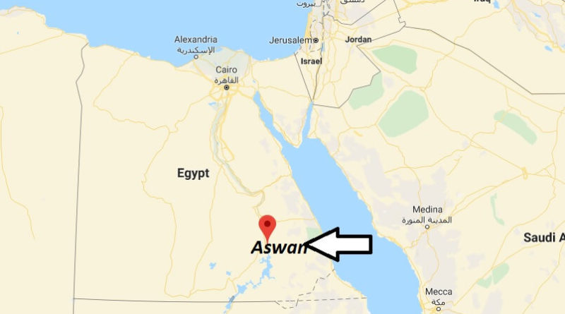 Where is Aswan Located? What Country is Aswan in? Aswan Map